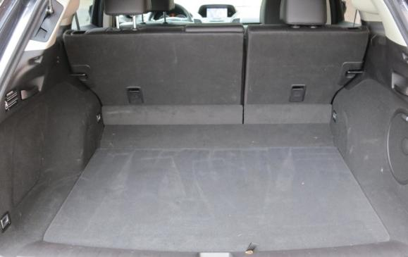 2013 Acura RDX - cargo area, rear seatbacks up