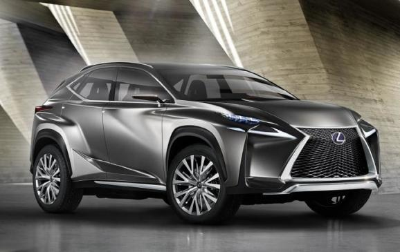 Lexus LF-NX Compact Crossover Concept