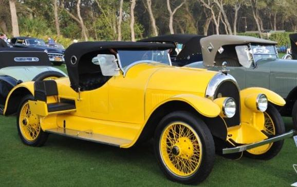 Old Cars - 1920 Kissel Model 6-45 Gold Bug Speedster