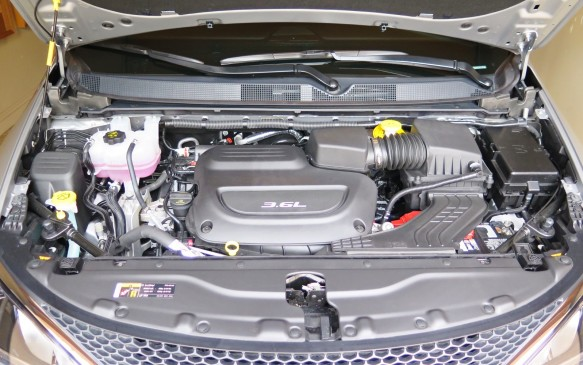 <p>The latest generation Pentastar V-6 engine is more powerful and fuel-efficient than the outgoing version. Combined with a new nine-speed automatic transmission, it helps the Pacifica reduce fuel consumption by 12% compared to the Town & Country it replaces. NRC ratings are expected to be 12.9 litres/100-km in the city and 8.4 on the highway. Wait a few months and you will be able to get the world's first plug-in hybrid minivan which is expected to come with a combined rating of 2.9 litres/100-km!  When it goes on sale later this year, it will offer 48-km of electric-only range and more than 850-km on a tank of fuel.</p>