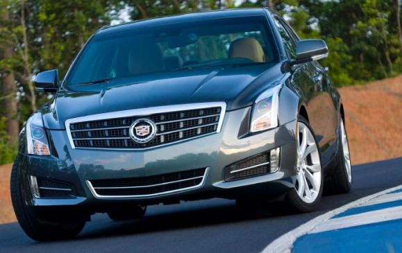 2013 Cadillac ATS - front beauty shot