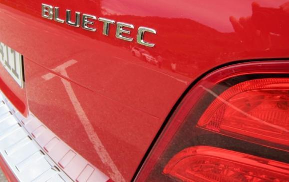 2013 Mercedes-Benz GLK - Bluetec badge