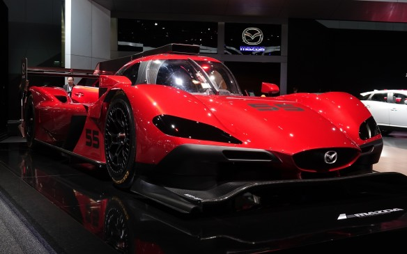 <p>The all-new Mazda RT-24P race car will soon compete in the Daytona Prototype class with a 600-horsepower, 2.0-liter turbocharged four-cylinder engine under slick new bodywork designed by the Canadian motorsport wizards at Multimatic in cooperation with renowned US chassis specialist Riley.</p>