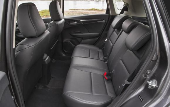 2015 Honda Fit - rear seats