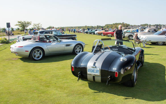 """<p>For the first time, this year the Concours weekend also included a <a href=""""http://www.autofile.ca/en-ca/auto-news/cars-and-coffee-comes-to-the-cobble-beach-concours"""">Cars & Coffee</a> event on Saturday, with more than 100 cars in attendance.</p>"""