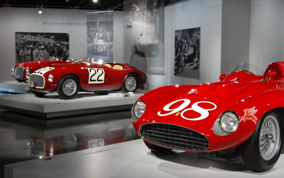 "<p><strong></strong>Founded by Enzo Ferrari in 1947, Ferrari has become one of the most iconic brands in automotive history, equally as renowned for its road-going cars are for its race cars. The Petersen Museum in Los Angeles pays tribute to that history with a special exhibit of 10 of marque's most important models,  called ""70 Years of Ferrari.""</p> <p>Photos by Allie Marsh / Words by Gerry Malloy</p>"