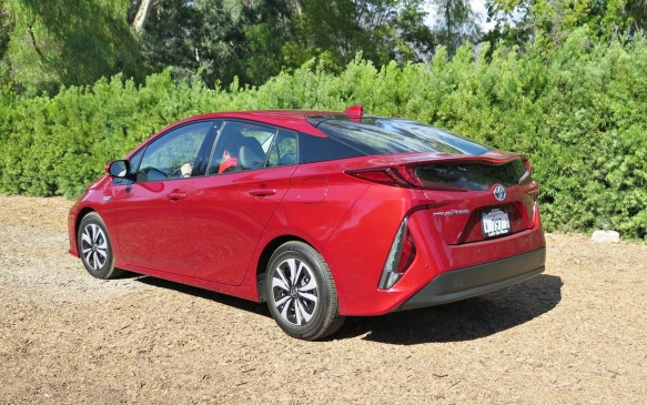 "<p>The Prius Prime is the new top dog in the Prius line, joining the ""regular"" Prius and the V and C models. The most technologically-advanced vehicle in Toyota's extensive portfolio, the Prime is new from road to roof. It shares Toyota's new global architecture that made its first appearance beneath the 2016 Prius hatchback. Known internally as TNGA, this structure can be sized to different vehicles and allows improved production efficiencies, which means lower costs. It also brings a lower cowl and improved forward visibility.</p>"