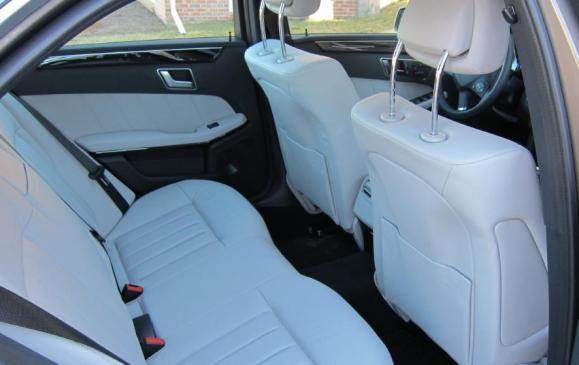 2012 Mercedes-Benz E350 - Rear Seat