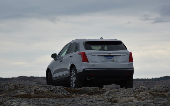 <p>On the rough roads of Fogo Island, the all-wheel drive system felt noticeably better gliding over many of the bumps and puddles along the way without much harsh shaking and vibration.</p>