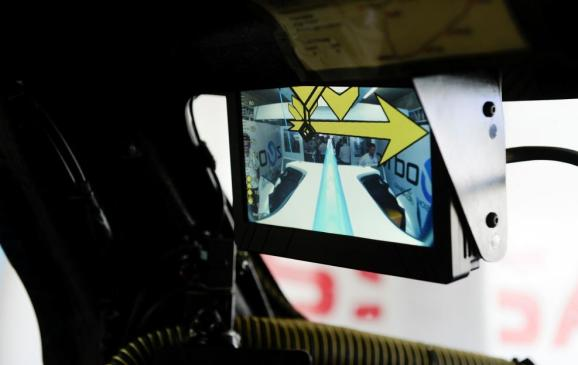 Nissan ZEOD RC rear camera system.