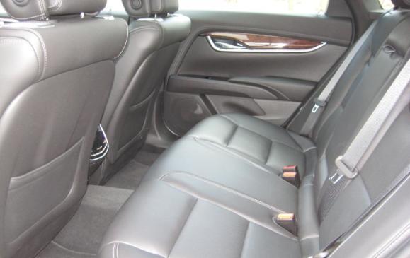 2013 Cadillac XTS - rear seat