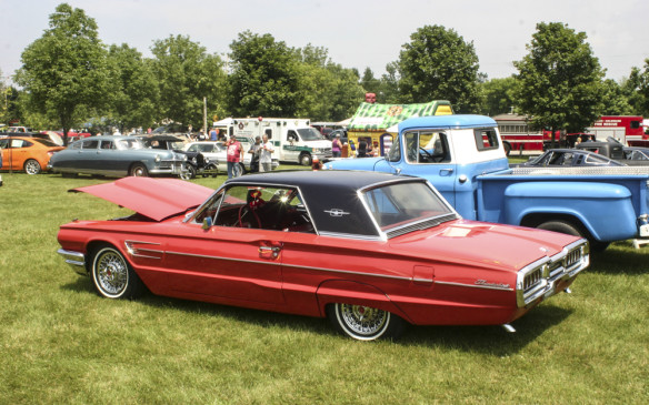 """<p>There's lots of food available, plenty of other vendors, a water play area for the kids and a variety of spot prizes for participants. Ten cars and five trucks are chosen for Best of Show awards and a Grand Prize winner gets a one-week stay at the resort.</p> <p><a href=""""http://www.goldenbeachresort.com/%23!annual-car-show-hosted-by-gbr/c3cr"""">www.goldenbeachresort.com/#!annual-car-show-hosted-by-gbr/c3cr</a></p>"""