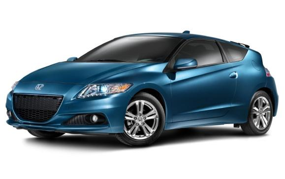 2013 Honda CR-Z - front 3/4 studio shot