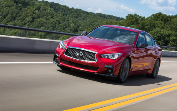 <p>Inside, the Q50 is as comfortable and spacious as its premium competition, and it doesn't disappoint during a drive. It's too bad we didn't get a chance to drive the 300 hp Luxe or Sport editions, but on paper, they should hold up very well.</p>