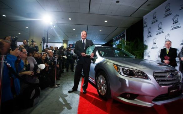 <p>They'll meet up with more than 120 new cars, trucks and utility vehicles for four days of intense, back-to-back testing that will ultimately determine the 2016 Canadian Car and Utility Vehicle/Truck of the Year. The 2015 Canadian Car of the Year was the Subaru Legacy...</p>
