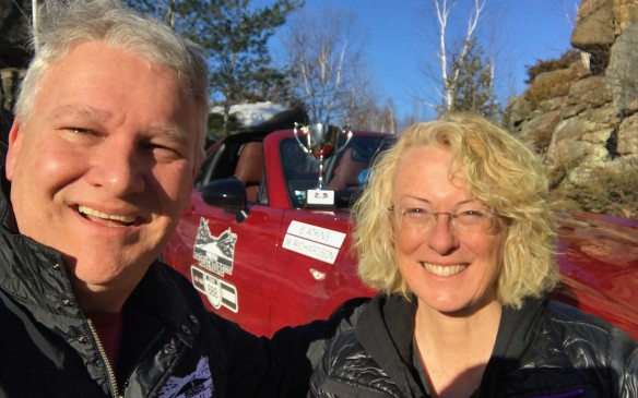 <p>The charities were the real winners, of course, but Emily and I were happy to have been able to help by having such a good time behind the wheel of such a fun car.</p>