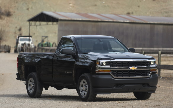 <p>Chevrolet's full-size Silverado maintained its sixth-place ranking on the truck sales charts, but it came within about 600 units of overtaking the Grand Caravan for fifth.</p>