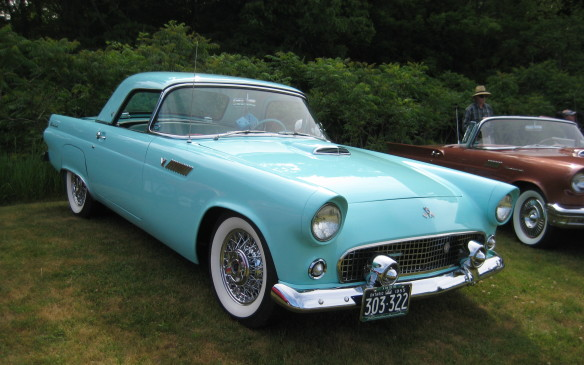 <p>The original T-Bird was an instant sales success but it survived just one generation as a two-seater. Its clean lines look as good now as they did back then.</p>