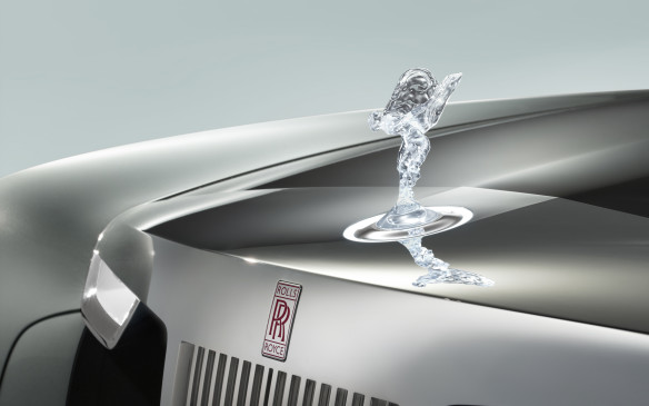 <p>Eleanor is named after Eleanor Thornton, the woman who modelled for the iconic Spirit of Ecstasy hood ornament, which will be displayed on the pantheon of the 5.9 metre-long car.</p>