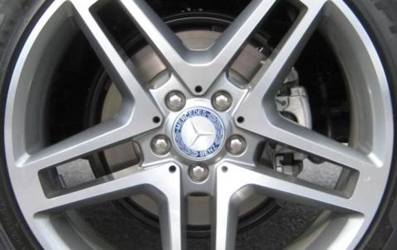 2013 Mercedes-Benz GLK 250 - wheel detail