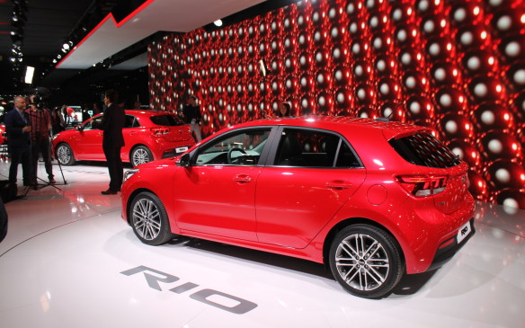 <p>Almost all the other cars at the show were considerably less expensive, and although many will never leave Europe, there were some, like the new fourth-generation of the Kia Rio, that will soon come to North America.  </p>