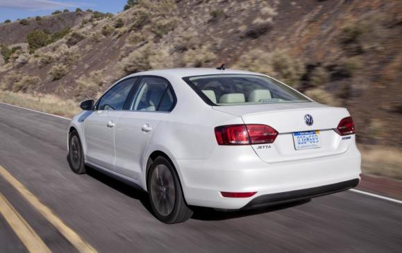 2013 Volkswagen Jetta Hybrid - Rear