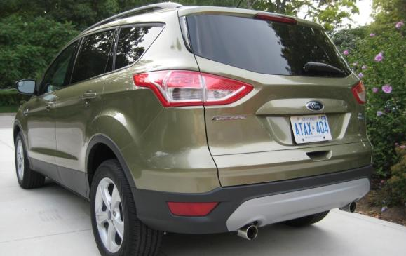 2013 Ford Escape - rear 3/4 view