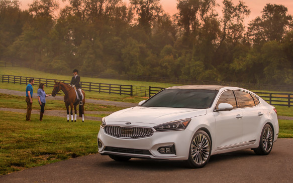 <p>Kia introduced the Cadenza to the media here in Virginia horse country – a very wealthy part of the U.S. – to show that it feels it belongs here. Just because it's good value for money doesn't mean it can't compete with the best of them for quality.</p>