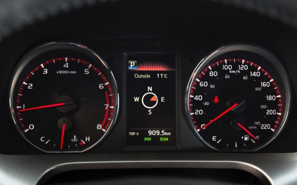 <p>The instrument panel on the new Sport model differs from both the standard and Hybrid versions.</p>