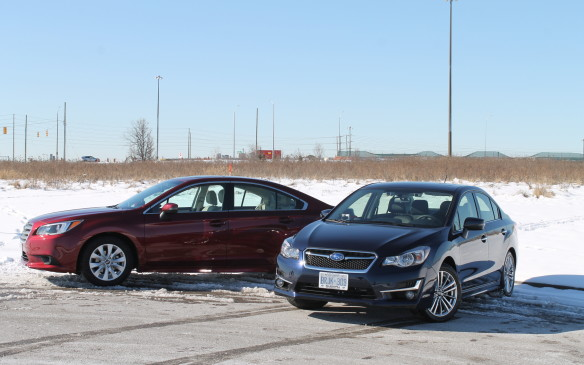 <p>You don't need an SUV or crossover to get AWD – some sedans, like the Subaru Impreza and Legacy also offer it, and they get better fuel consumption. We drove both sedans to and from Mississauga and Muskoka, Toronto's cottage country, to try them out on some slippery, challenging roads.</p>
