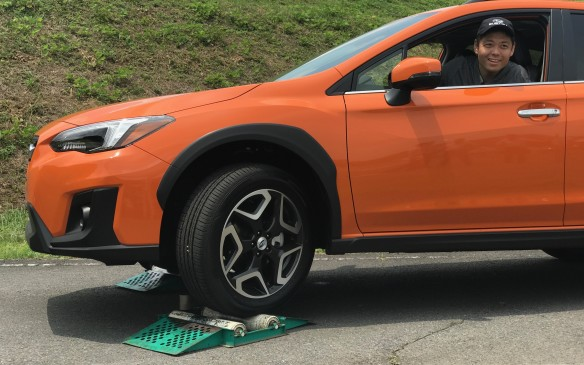 <p>The software is tweaked now to make sure it even keeps the rear driving wheels moving when the front wheels are turned at full lock. The old Crosstrek might have got stuck in this case, but not the new one.</p>