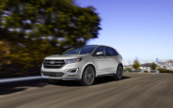 <p>The Canadian-built, second-generation Ford Edge, which is based on the same mid-size C/D-class architecture as the Fusion, is available with a choice either four-cylinder or V-6 EcoBoost engines or a normally-aspirated V-6, plus an array of advanced driver assistance features.</p>
