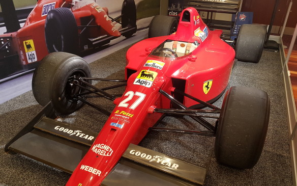<p><strong>A Tifosi treat -</strong> Nigel Mansell's career is storied, though not a lot of his success came in this Ferrari 641 that he competed with in the 1990 Formula One season. He scored just one win with it at the Portuguese Grand Prix and famously threatened to retire at the end of the season after it came to light that the team had switched him to this car from the one in which he had started the year, at his teammate Alain Prost's request, without telling him.</p>