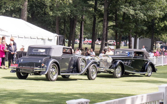 <p>Joining the Stutz as Best in Show – European, was a 1924 Isotta Fraschini Tipo 8A, both cars shown here.</p>