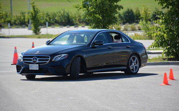 "<p>It's not fully autonomous, that's something that's being predicted for the year 2020. For now, Mercedes-Benz is calling the E 300, a ""masterpiece of intelligence"" and the next step towards autonomous driving.</p>"