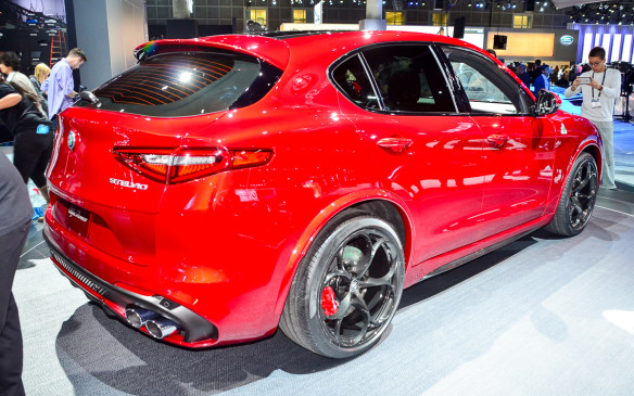 <p>The Stelvio is the third part of the company's reboot and will quickly be the fastest in its class with a 0-100 km/h sprint in close to four seconds. A lot of that capability has to do with its Biturbo, 2.9-litre four-cylinder engine, which cranks out 505 hp and 443 lb-ft of torque.</p>