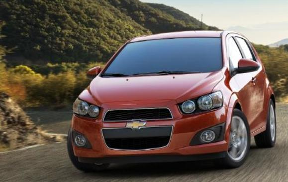 2012 Chevrolet Sonic - front 3/4 motion
