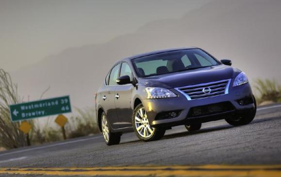 2013 Nissan Sentra - Front
