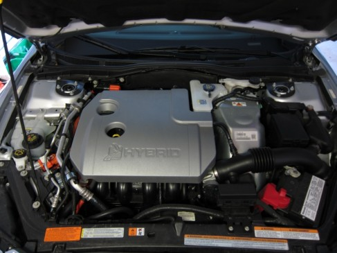 2012 Lincoln MKZ engine