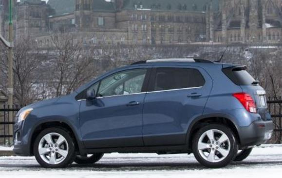 2013 Chevrolet Trax - side view