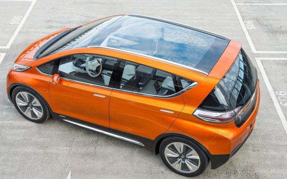 <p><strong>Chevrolet Bolt EV Concept (Canadian debut) – </strong>Chevrolet is previewing the second arm in its electrified vehicle offensive with its Bolt EV. Although this pure electric sits on the compact Sonic platform, it looks more like the upcoming second-generation Volt than its conventionall cousin. The Bolt promises a range of around 300 km on a charge, with a starting price of around $30,000 US when it goes ino production – probably around 2017.</p>