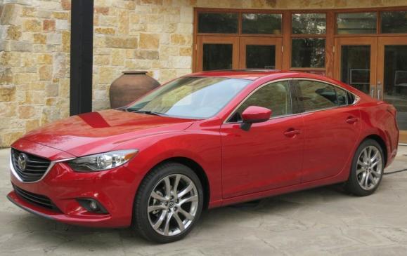 2014 Mazda6 - front 3/4 beauty shot