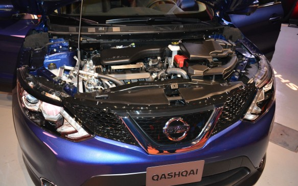 <p>There is a diesel option overseas, but for now, Nissan is bringing in only one engine for Canada. The little crossover will be powered by a 2.0-litre inline-four that produces 141 hp and 147 lb-ft of torque, matched to either a six-speed manual transmission (offered only in the base S trim) or its Xtronic continuously variable transmission (CVT). Front-wheel-drive is standard and all-wheel-drive is available on the lower trims and standard in the SL model and above.</p>