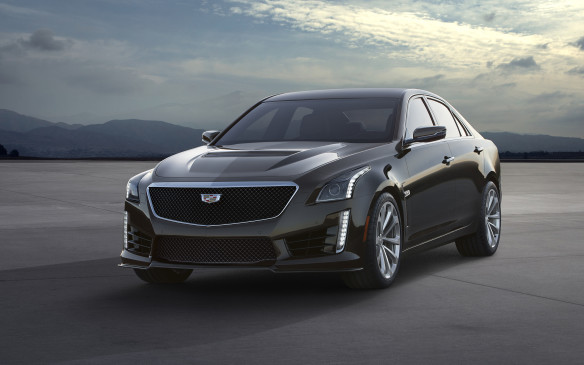 <p><strong>2016 Cadillac CTS-V</strong></p> <p>The Cadillac CTS-V has always been a distinctly in-your-face American go-fast luxury sedan, and the recently revealed third-generation 2016 version follows almost the same recipe. While certainly more refined than before, the 2016 CTS-V uses a supercharged 6.2-litre OHV V-8 that produces a NASCAR-friendly 640 horsepower and 630 lb-ft of torque. Unlike previous examples, the only transmission available will be the same paddle-shifted eight-speed automatic found in the less powerful V Sport version. The full CTS-V remains rear-wheel drive, though, and will do the 0-100 km/h sprint in under four seconds and top out over 320 km/h.</p>