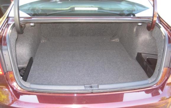 2012 VW Passat TDI - Trunk