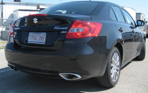 2012 Suzuki Kizashi - rear 3/4 low