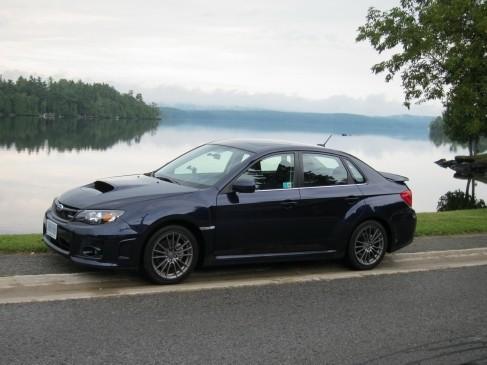 Subaru WRX 2011 front
