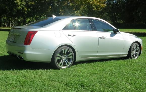 2014 Cadillac CTS - rear side view