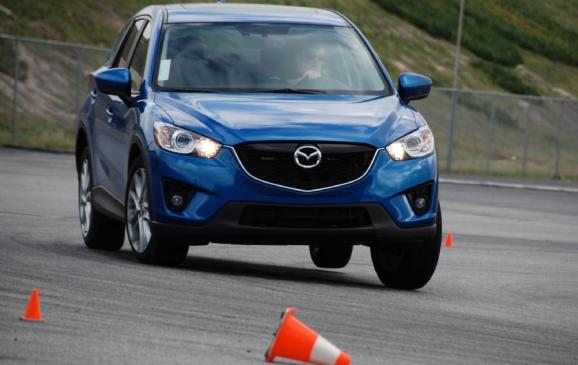 2012 Mazda CX-5 - front view on track