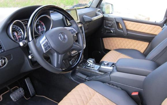 2013 Mercedes-Benz G 63 AMG - Interior